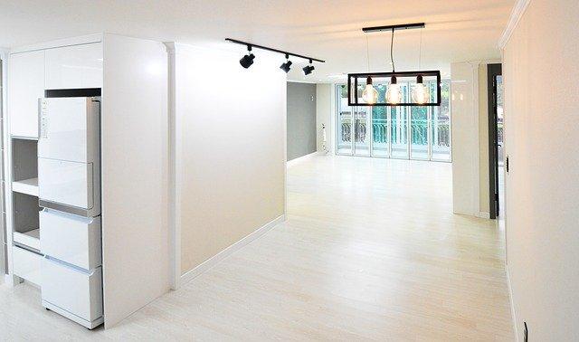 moderní interiér nového bytu