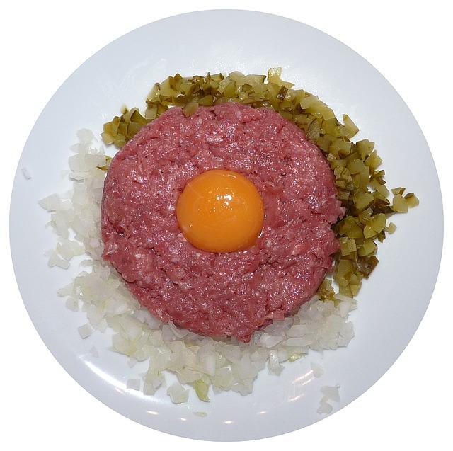 tatarák na talíři