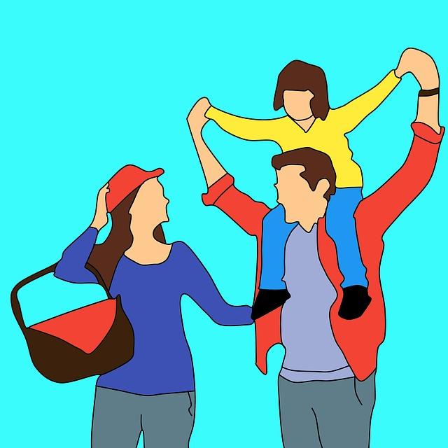 zábava pro rodiče s dětmi