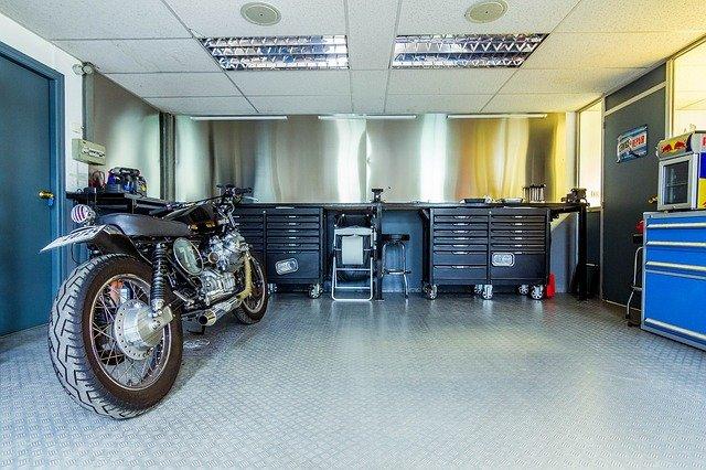 moderní garáž